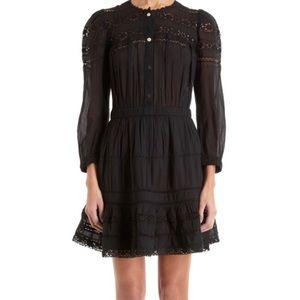 Isabel Marant Etoile Mid length Ebroid black dress